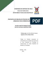 Propuestas de Mejora de Proceso de Supervisión de Armadura Para Hormigón Armado