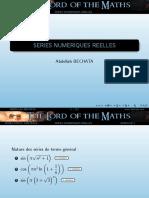 3.-Series Numeriques Reelles