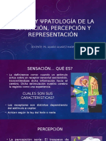 Ψlogía y Ψpatología de La Sensación