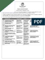 magazine cover task sheet