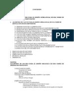 Algoritmo de Diseno de Una Columna de Destilacion Multicomponentes