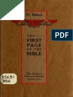 Bettex - firstpageofbible00bett