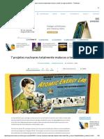 7 Projetos Nucleares Totalmente Malucos Criados Ao Longo Da História - TecMundo