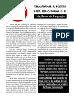 Manifesto - Chapa COMposição