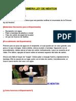 Experimento - LA PRIMERA LEY DE NEWTON.docx