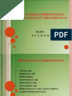 Penyelidikan Hidrogeologi
