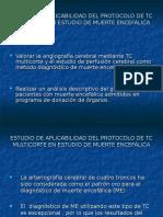 Estudio de Aplicabilidad Del Protocolo de Tc Multicorte