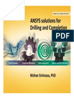 ANSYS Solutions for Drilling and Completion - Srinivasa