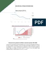 Distribución de La Población Mexicana