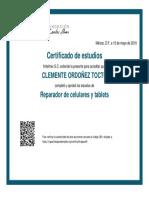 Certificado REP CEL