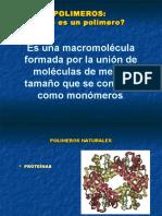 Consideraciones Generales de PolimerosI