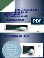 Evolucion de Las TICS_Carmen Granda