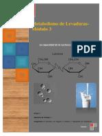 INFORME LAB - Capacidad de Las Levaduras Para Fermentar Lactosa