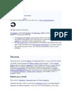Schwa - English phonetics