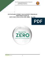 Sustainable Energy Management Program in SOEM-KL