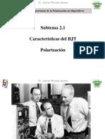 5.- Conceptos de Polarizacion en BJT