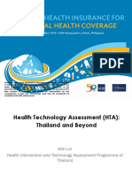 NHI4UHC Day 2 Session 3 Health Technology Assessment (HTA)