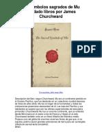 Los Símbolos Sagrados de Mu Olvidado Libros Por James Churchward - Averigüe Por Qué Me Encanta!