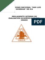 Reglamento Evaluación Académica de Pre Grado Final