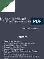 Cyberterrorism 140706075825 Phpapp01
