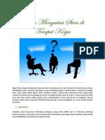 cara mengatasi stres tempat kerja.pdf