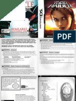 Tomb Raider Legend DS