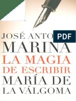Marina Jose Antonio - La Magia De Escribir.pdf