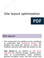 Site Layout Optimization