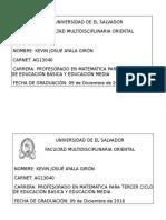 Formato Rotulacion Expediente Gradua