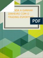 Trader Esportivo Dismistificado