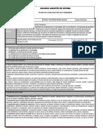 Plan y Programa de Evaluacion Bloque II FCyE I