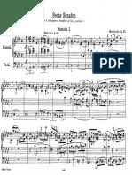 Mendelssohn Organ Sonata No. 1