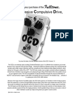 Fulltone Ocd User Manual
