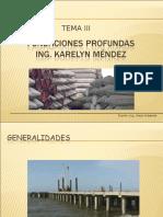 Fundaciones y Muros Area Temática III