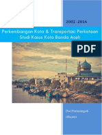 Perkembangan Kota & Transportasi Perkotaan