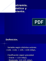Urgencia y Emergencia III Parcial -Trastorno Hidroelectrolitico- Hiponatremia .ppt