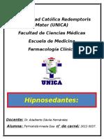 Hipnosedantes- Benzodiacepinas