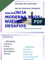 b.1 Gerencia Moderna y Nuevos Desafios