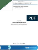 Antologia Educacion Orientada en Competencias
