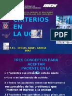 Ucia, Criterios Ingreso, Alta, Transporte, Etc Clase