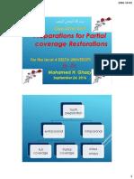 2017 Dr Ghazy DELTA LEVEL4 LECTURE 1 Partial Coverage crown preparation .pdf