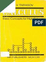 L.V. Tarasov-Calculus - Basic Concepts for High School  -MIR Publishers.pdf