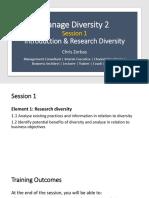 BSBDIV601 - Diversity Session 1 - Intro & Research Pt 1 (APC)