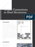 Simple Connections in Steel Structures