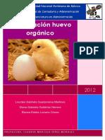 Trabajo de Investigación Del Huevo Orgánico