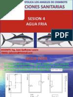 Sesion 4- Agua Fria