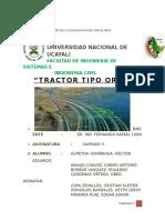 Monografia Tractor Oruga