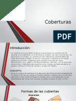 coberturas presentacion