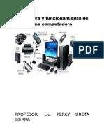 Estructura y Funcionamiento de Una Computadora