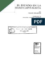 Miliband Ralph_El Estado en La Sociedad Capitalista